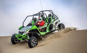 Wildcat 4 Cresting Dune