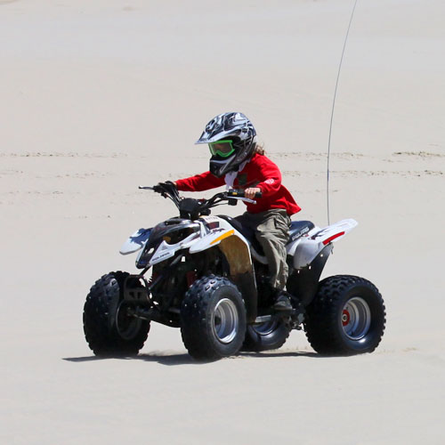Kids mini quad for rent